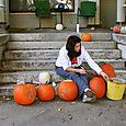 pumpkin carving halloween '08