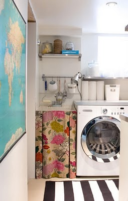 Canadian house and home- laundry room