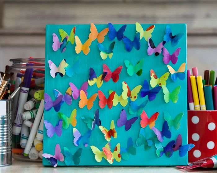 Butterfly Craft Ideas For Kids Part - 42: Kidu0027s Crafts: Fun With Watercolors