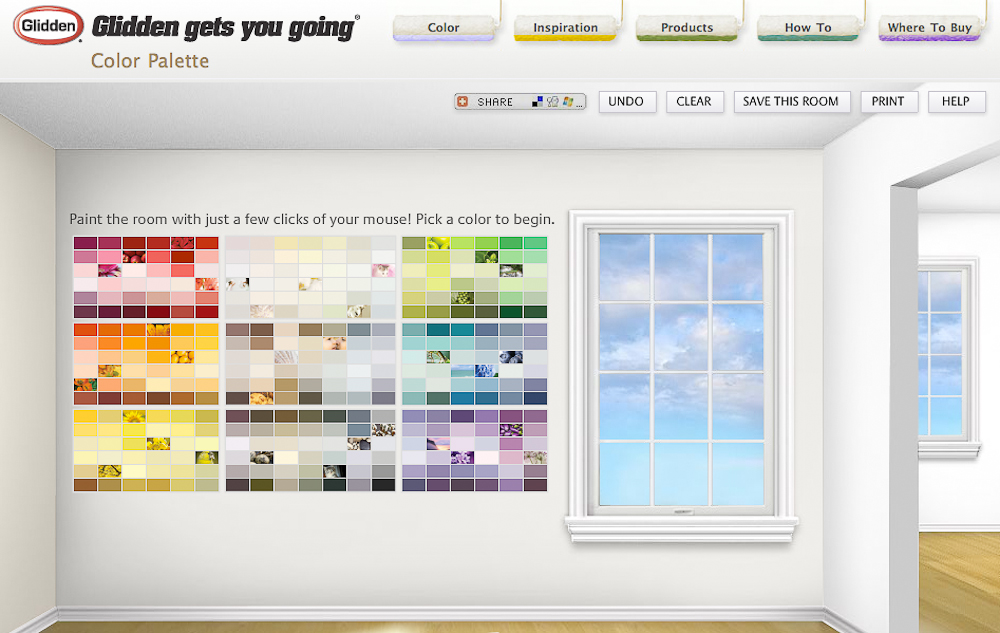 Exterior paint color visualizer 28 benjamin moore for Paint your home online