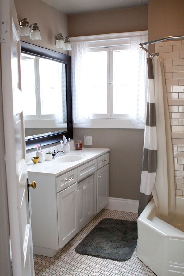Whatever The Gray Bathroom And A Giveaway