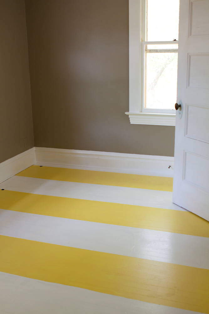 Whatever The Yellow Striped Floors