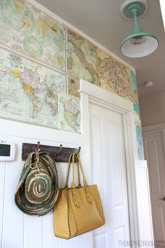 Map-wall