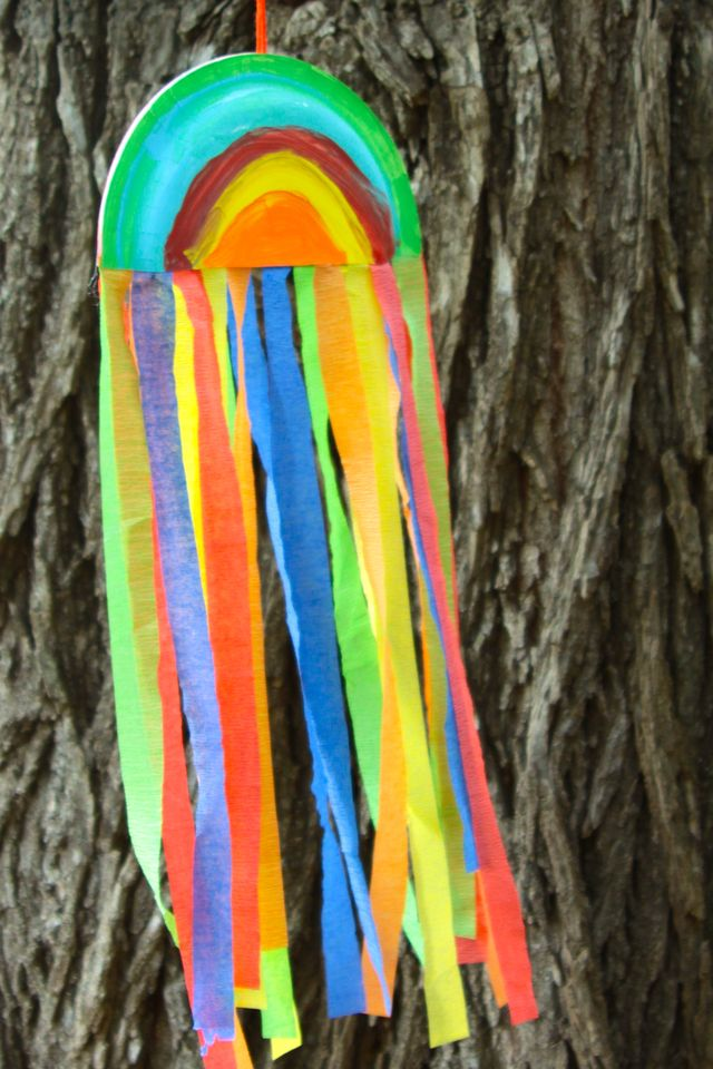 rainbow wind catchers